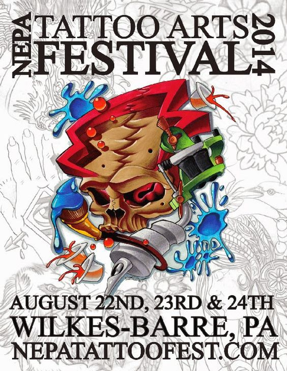 Tattoo & Ink: NEPA Tattoo Arts Fest 2014