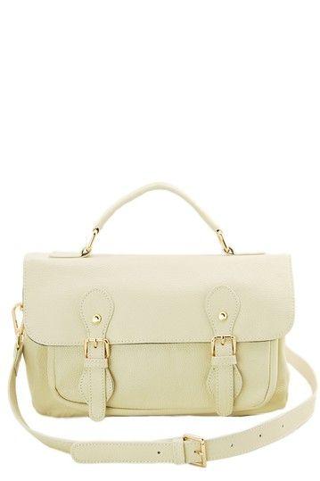 Jane Ellen Tristan Leather Messenger Bag by Erica Anenberg on @HauteLook