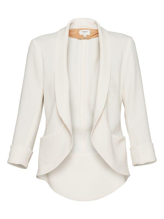 Want white blazer