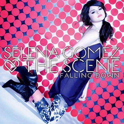 Selena Gomez & the Scene – Falling Down (single cover art)