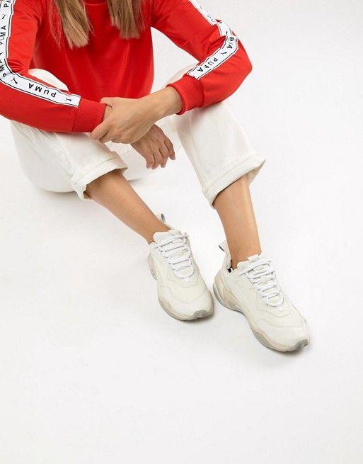 Puma Thunder Desert White Sneakers