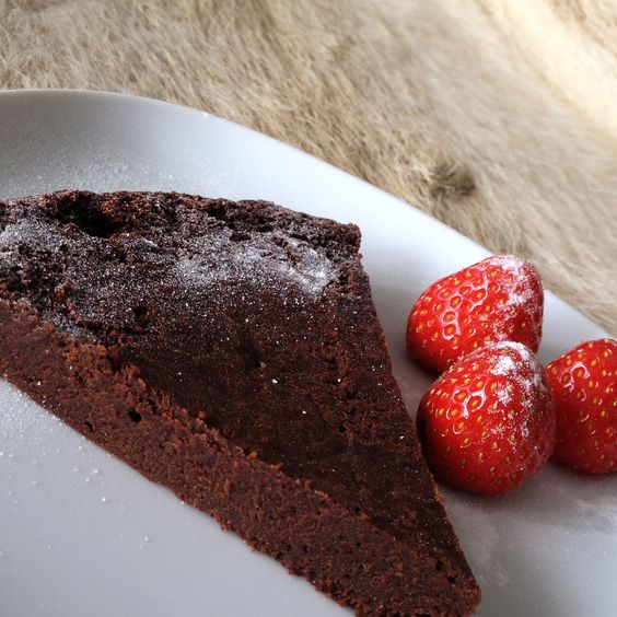 Original italienischer Schokoladenkuchen