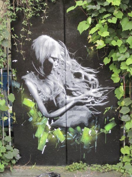 Painted Door In Berlin