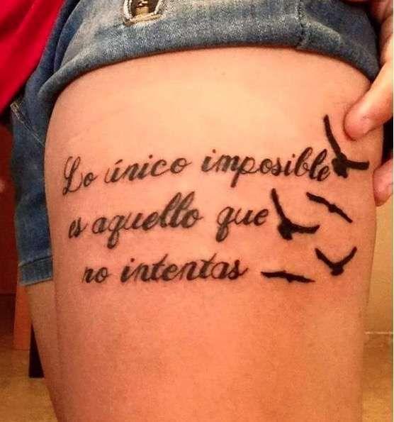 14 Frases originales para tatuajes