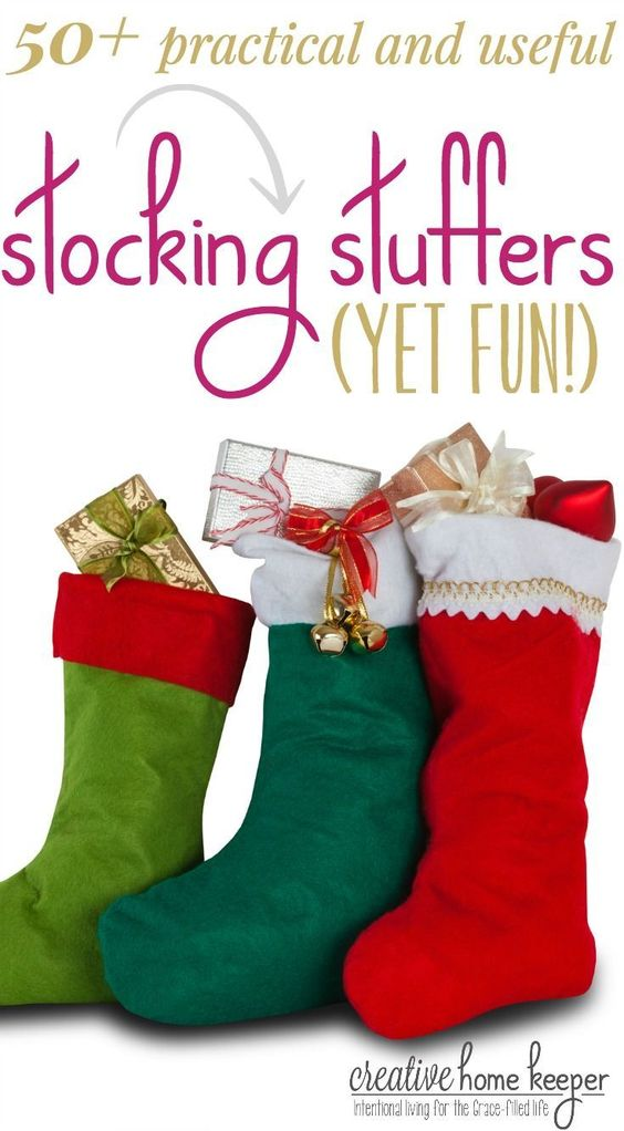 50 Practical And Useful Yet Fun Stocking Stuffers For