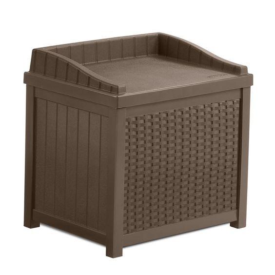 Williston Resin Storage Bench & Reviews   Joss & Main