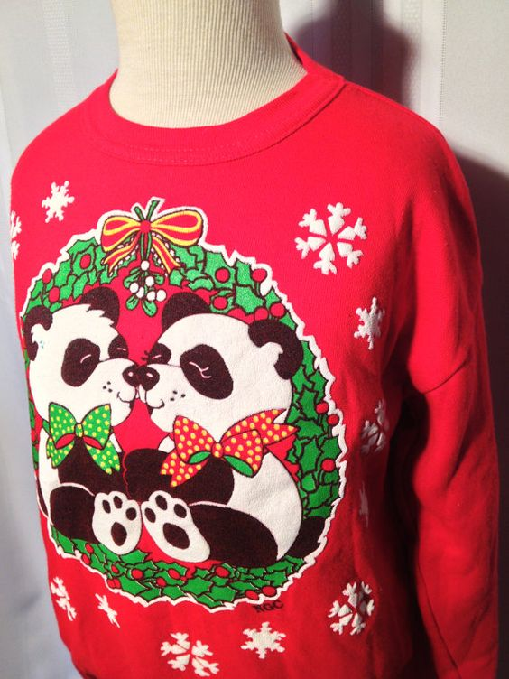 Christmas Sweater/ FREE Shipping/ Girls Ugly by ZassysTreasures, $16.00