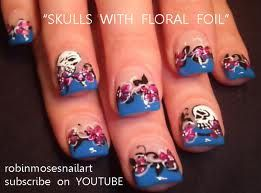 nail designs skulls - Google Search
