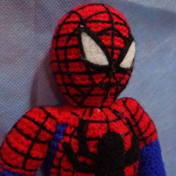 Amigurumi Spiderman Patron : Spiderman and Patrones on Pinterest