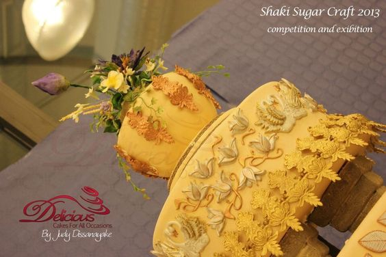 Traditional wedding cake ( sri lankan )