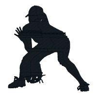 BUY 2 GET 1 FREE Girls Softball Silhouette Machine ...