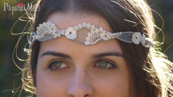 Tocado Miss Toscana - Pequeña Miss Tocados handmade www.pequeñamiss.com