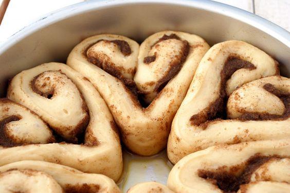 Heart Rolls Cinnamon Rolls- for Valentine's Day!