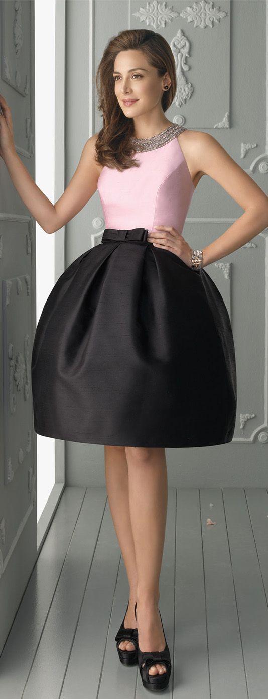 #elegant #Nectarean #BallGown Halter Beading #Bow(s) Knee-length Satin Prom Dresses