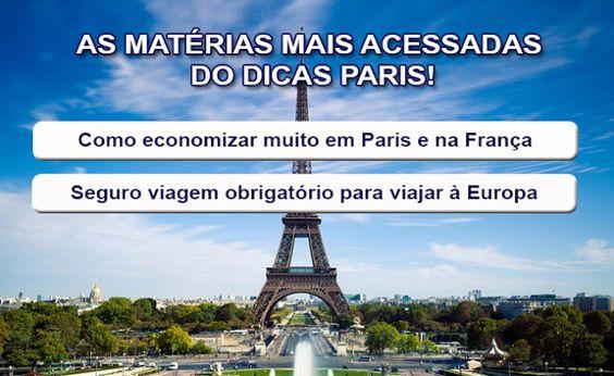 Dicas de Paris e França: Como economizar em Paris e na França