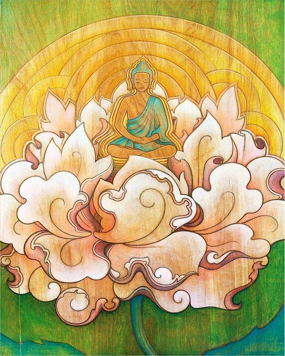 Lotus Flower Buddha Pinterest • The worl...
