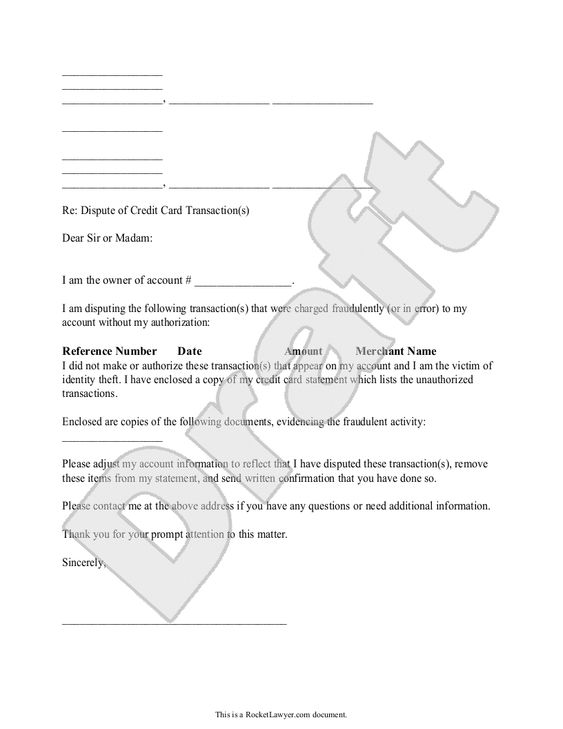 Sample Dispute Fraudulent Credit Card Transaction Form Template - credit card authorization form