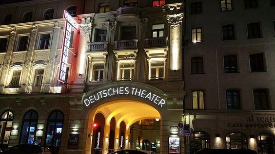 Munich Deutsches Theater 2 Broadway Shows Broadway Show Signs Photo