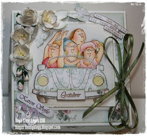 Shoppers Front & Back box by Mayas Hobbyblogg