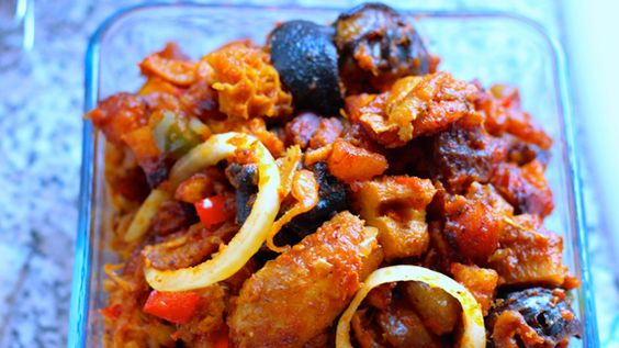 Dodorishi : made with Meat, bay leaves, plantain & pepper sauce makes up this appetizing dish. It can be served as lunch or dinner.