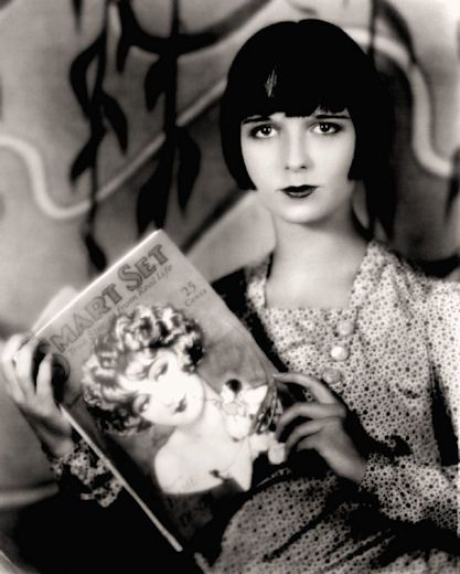 Louise #Brooks - #fashion icon of the #silent movie era