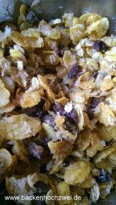 Müsli-Buttermilch-Pfirsichtorte aus dem Kühlschrank