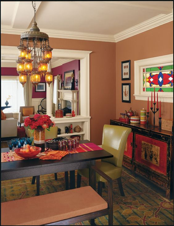 Sherwin williams foxy sw 6333 paint colors for dining - Paint colors for living room and kitchen ...