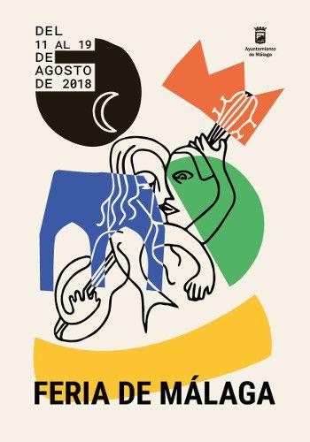 Cartel Finalista Feria de Malaga 2018. Titulo:  Solera