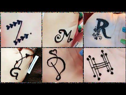 أجمل رسومات حنة سهلة وبسيطة رسومات تاتو حروف جديدةموضه 2019 رقيقة ناعمة سمبل 3alm Vevo Youtube Henna Tattoo Designs Triangle Tattoo Henna Tattoo