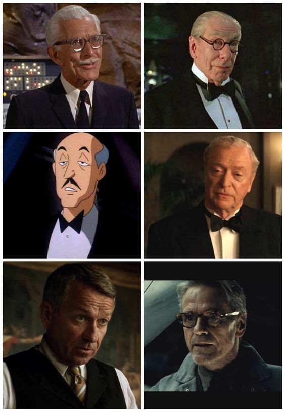 Who was the best Alfred Pennyworth? - Imgur