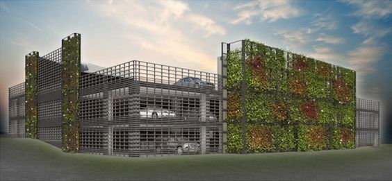 Parking Garage Ivy Wall   Google Search | Green | Pinterest | Ivy Wall And  Facades