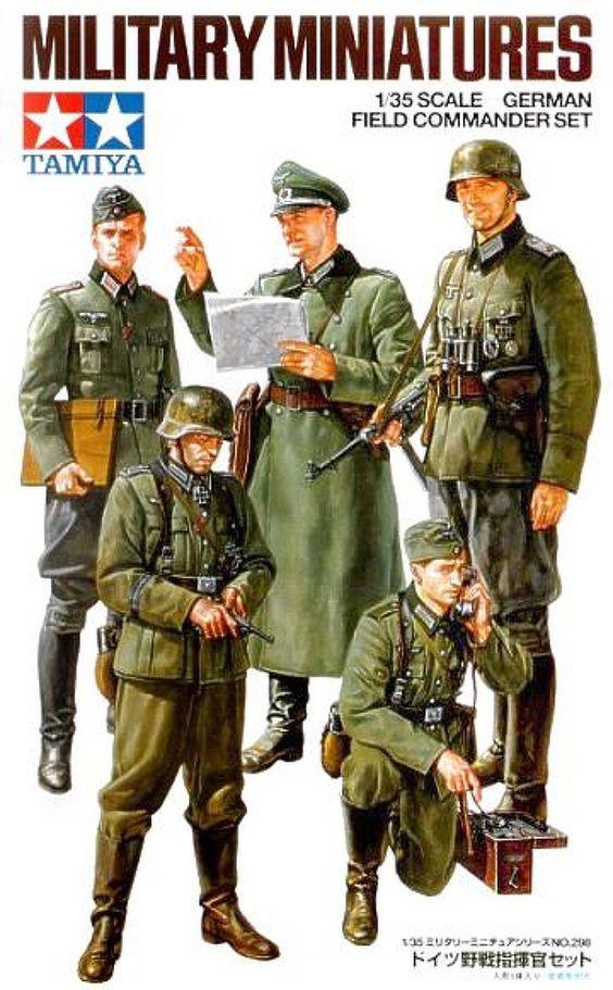 1:35 Scale German field Commander Set