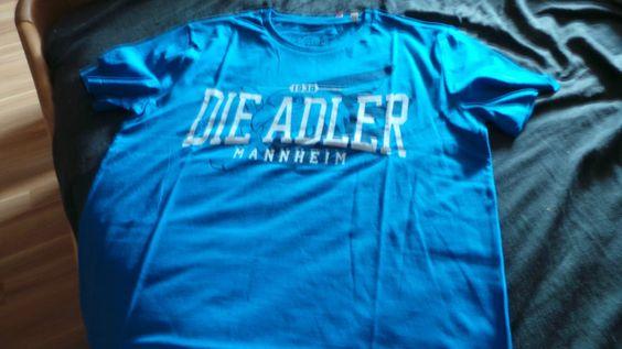 Flutopferhilfe 2016:  Adler Mannheim T-Shirt  Die Adler   Farbe bekennen