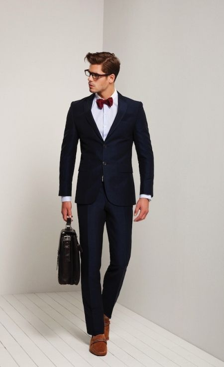 Rules To Follow To Wear Suits The Right Way | Dark brown, Bow ties