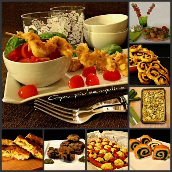Finger foods fingers and food on pinterest for Finger food ricette