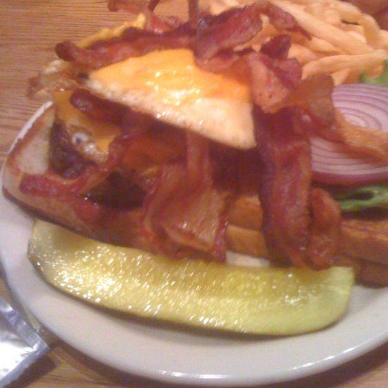 Heart attack burger from Vortex