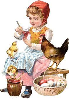 Glanzbilder - Victorian Die Cut - Victorian Scrap - Tube Victorienne - Glansbilleder - Plaatjes : Kinder mit Tieren - children with animals . enfants avec animaux