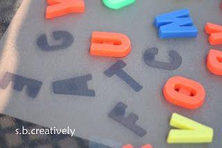 s.b.creatively: Faded Alphabet
