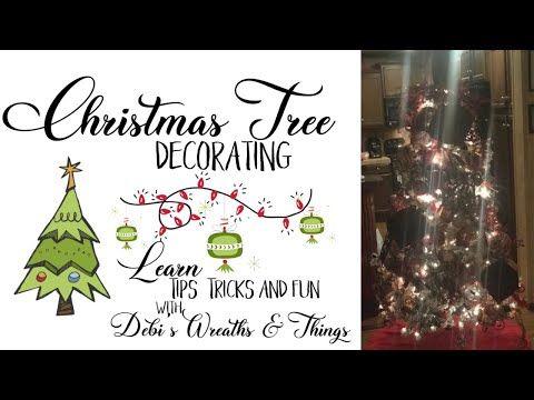 76 Christmas Tree Decoration Tips Diy Tree Decorating Youtube In 2020 Christmas Tree Decorations Diy Tree Tree Decorations