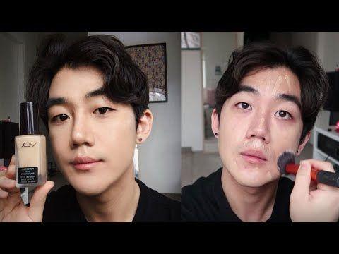 Glass Skin For Men Korean Male Makeup Tutorial Youtube Male Makeup Makeup Tutorial Makeup