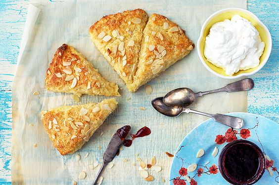 Orange Almond Scones (on The Foodess)