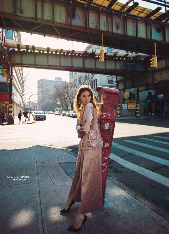 ELLE Vietnam June 2017 Kristina Peric by Elio Nogueira