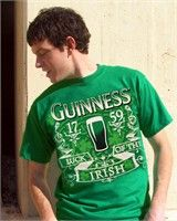 Click Image Above To Purchase: Guinness Beer Luck Of The Irish T-shirt