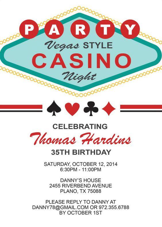 las vegas football gambling cards birthday
