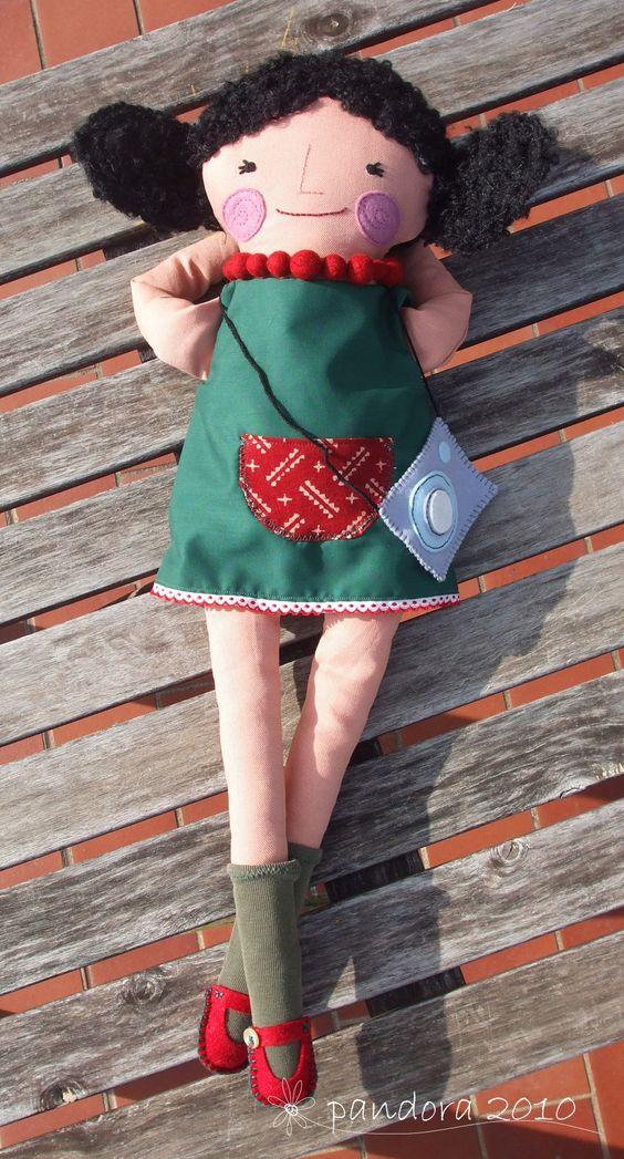 bambola per marina #doll