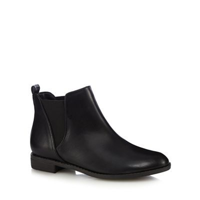 Red Herring Black Chelsea boots | Debenhams