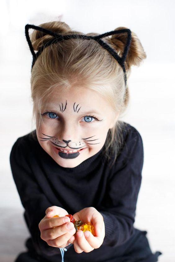 8 idées de maquillage de chat pour les enfants - M6 Deco.fr