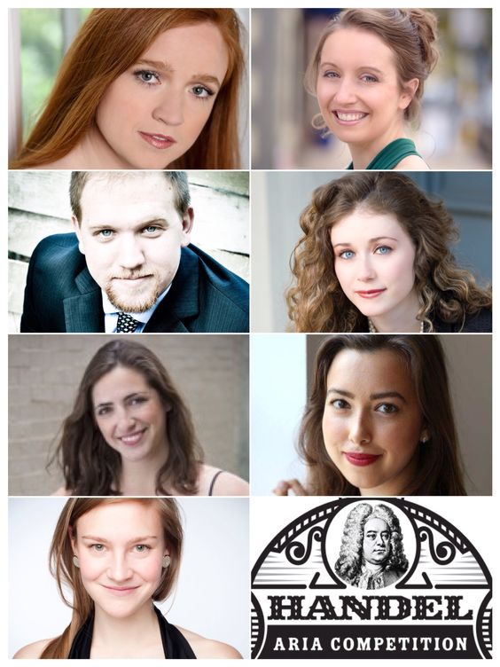 These seven singers from around the world will be performing in the 4th annual Handel Aria Competition in Madison, Wisconsin on July 8, 2016.