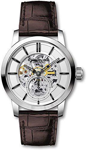 Stuhrling Original Men's Mechanical Skeleton Dress Watch