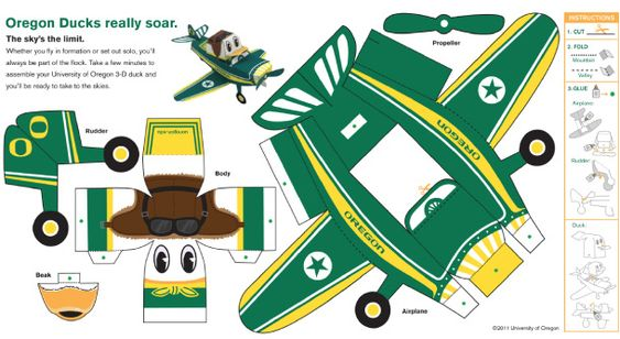 Blog_Paper_Toy_papertoy_Oregon_Duck_Airplane_template_preview